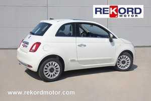 FIAT 500 1.2 LOUNGE 69CV KM 0-NAVI PLUS-TECHO PANO  - Foto 3