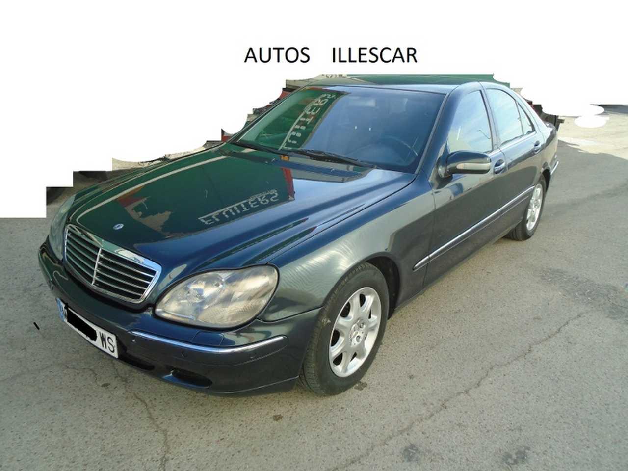 Mercedes Clase S 320 GASOLINA MUY CUIDADO  - Foto 1