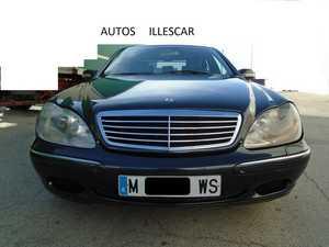 Mercedes Clase S 320 GASOLINA MUY CUIDADO  - Foto 2