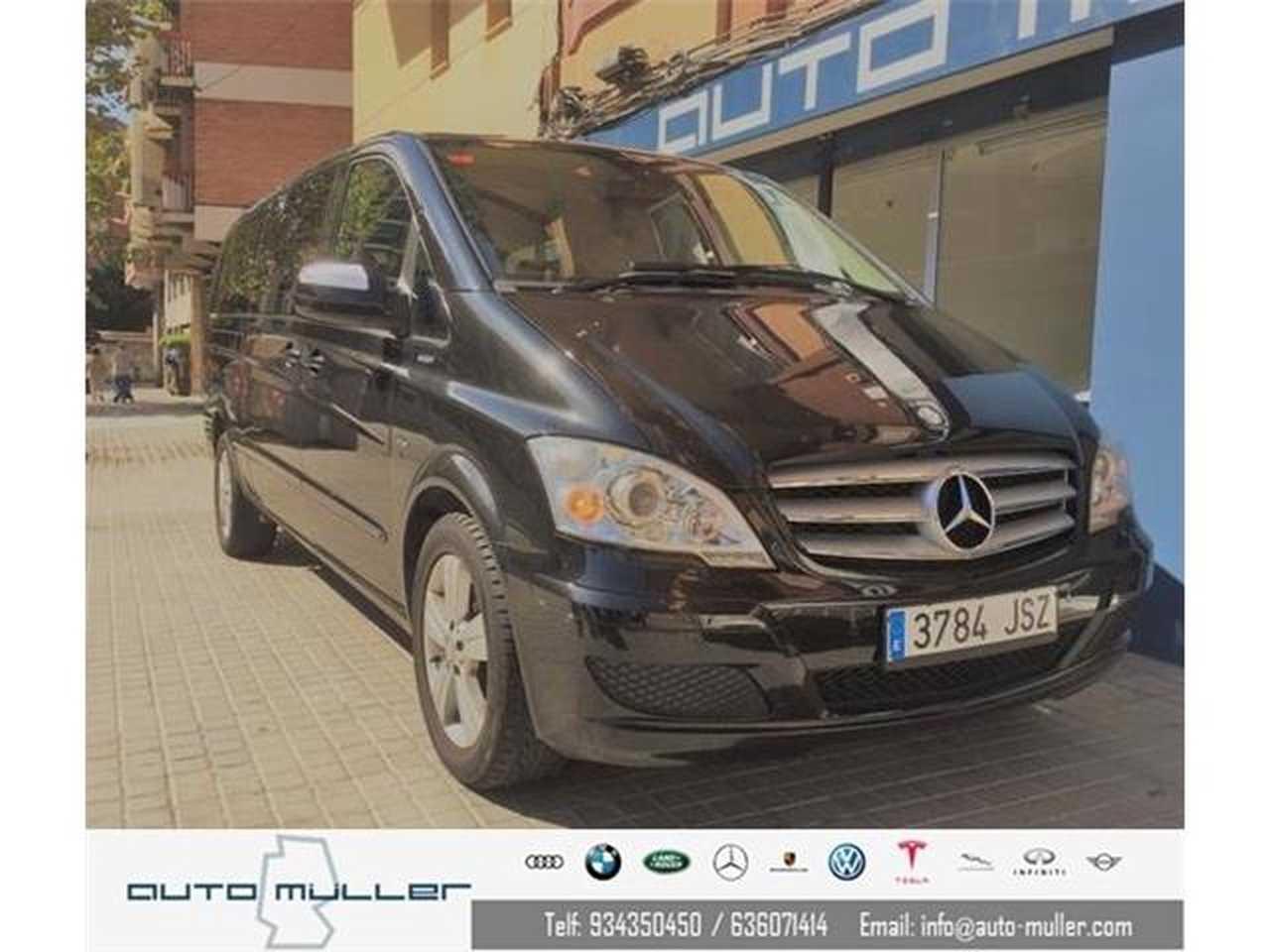 Mercedes Viano 3.0 CDI V6 Extralang Ambiente Completamente piel / Automático  - Foto 1