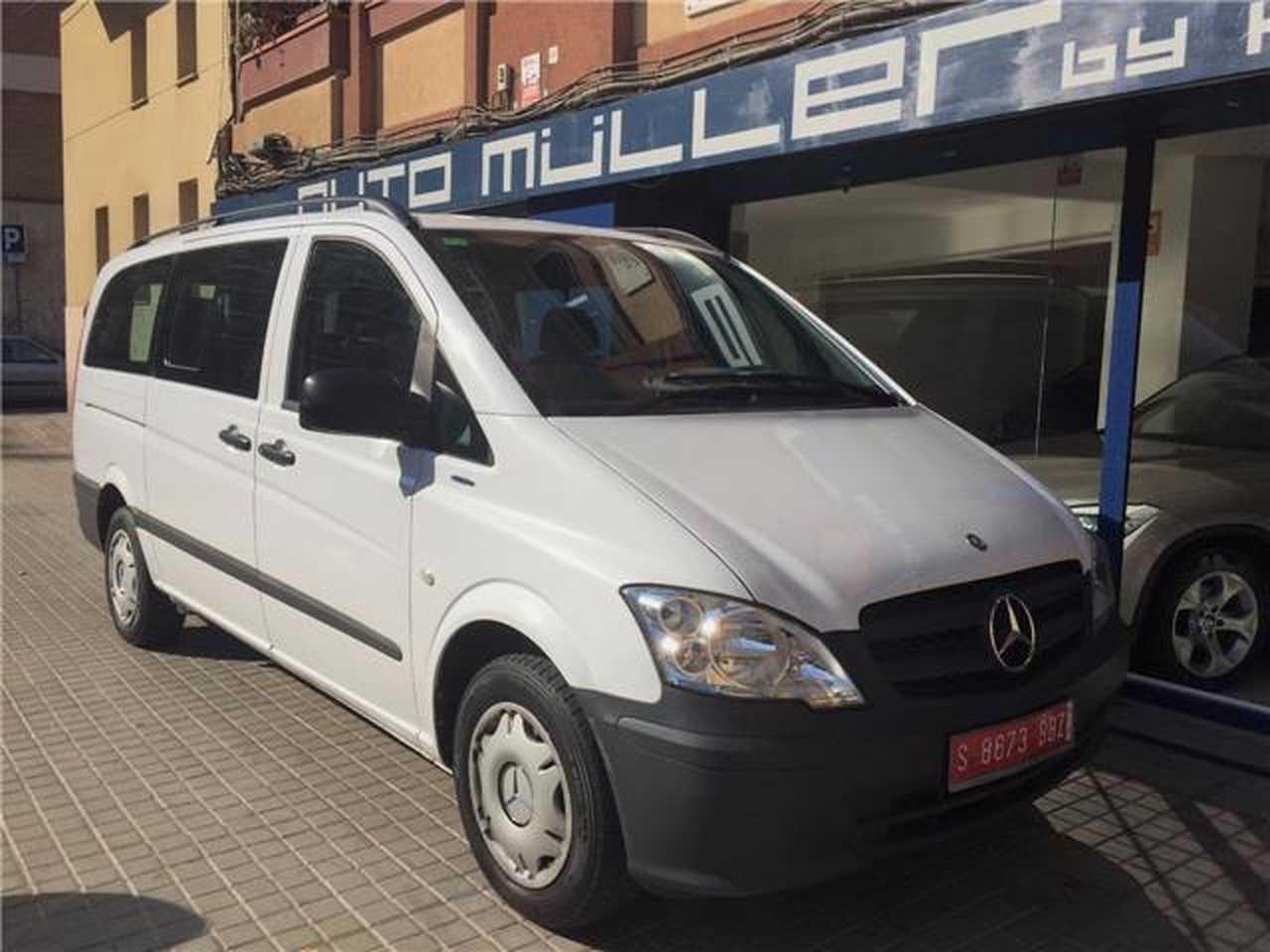 Mercedes Vito 113 CDI Larga  9 Plazas / Automática  - Foto 1