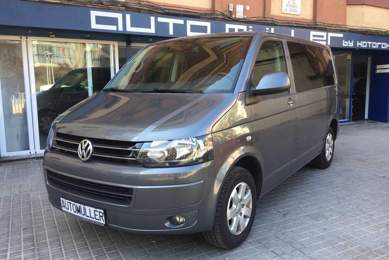 volkswagen multivan t5 2 0 tdi bmt special ed  140 cv    nav    c u00e1mara en venta en barcelona