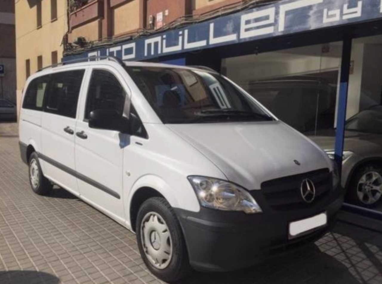 Mercedes Vito 113CDI Larga / 9 plazas / Automática   - Foto 1