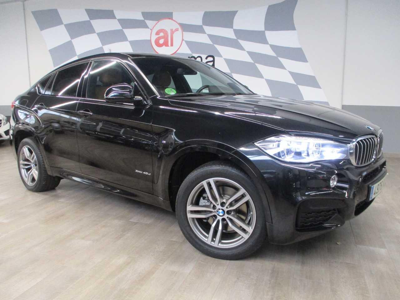 BMW X6 4.0d X-Drive M Packet   - Foto 1