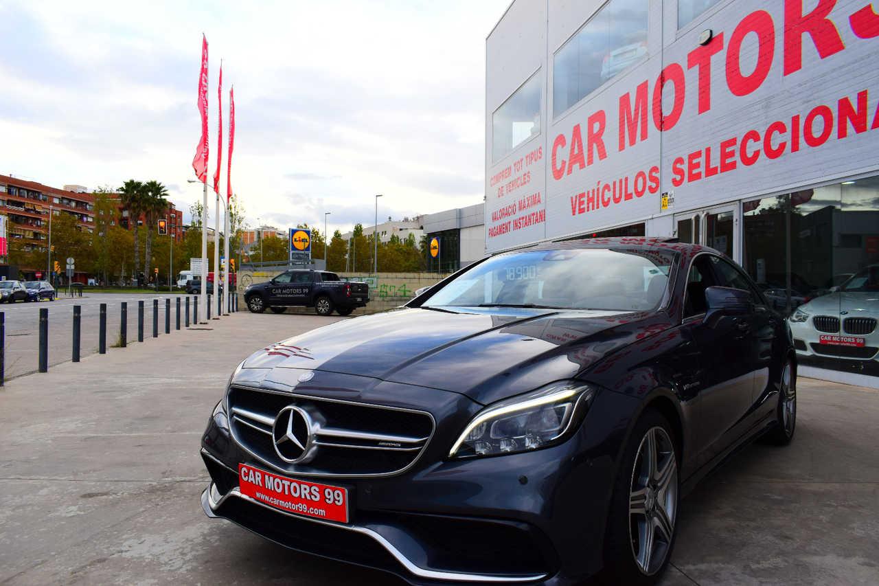 Mercedes Clase CLS CLS 63 AMG 4M Aut. Coupe, 4 A7 5461ccm 410/557CV IVA DEDUCIBLE PARA EMPRESAS  - Foto 1