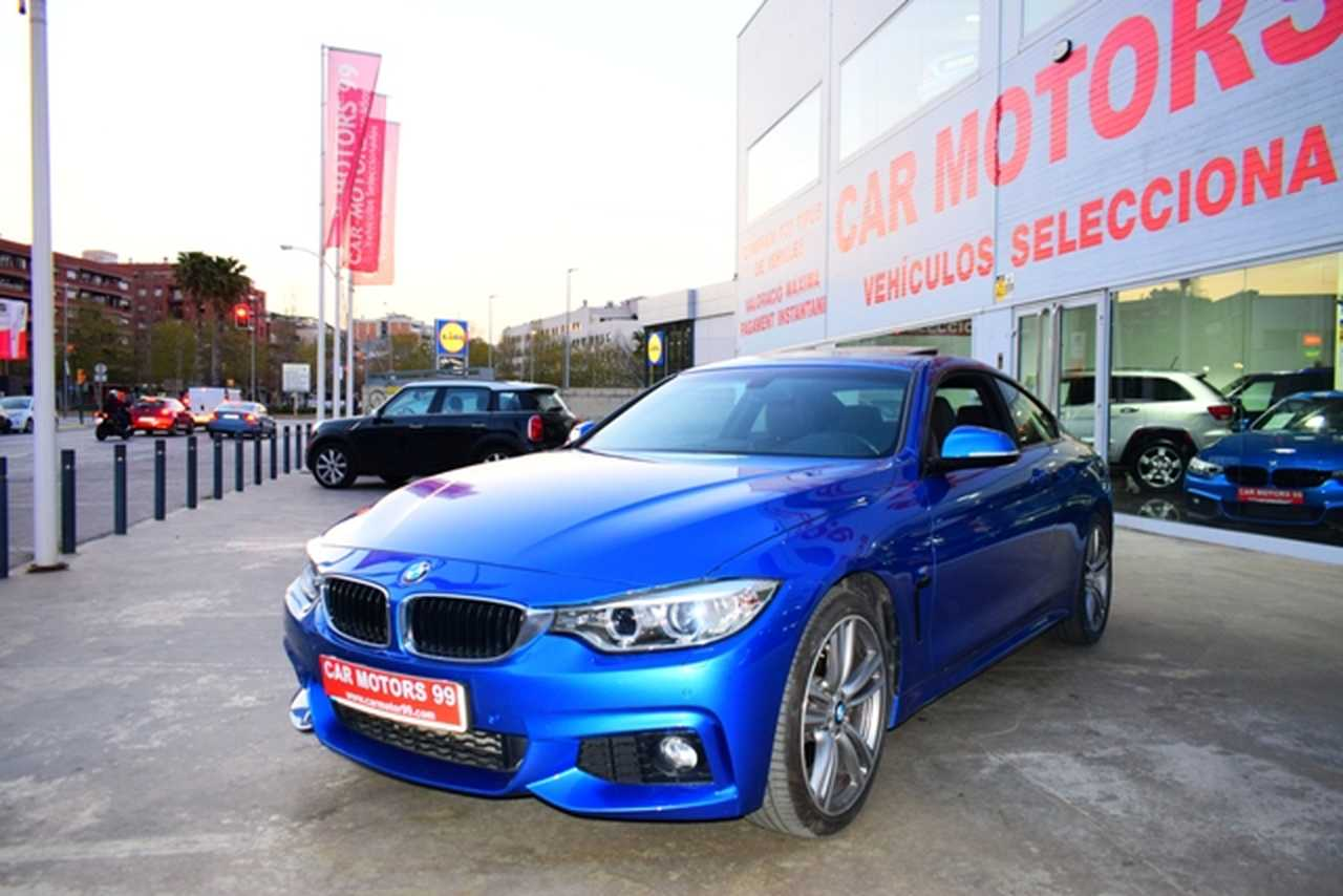 BMW Serie 4 Coupé 435 Serie 4 F32 Diesel xDrive PACK M NACIONAL-LIBRO REVISIONES-IVA DEDUCIBLE  - Foto 1