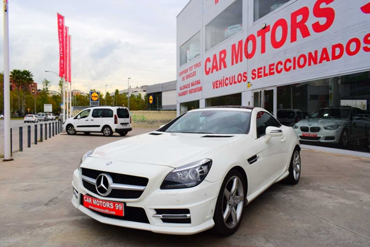 Mercedes Clase SLK  200 BE AMG Line Roadster, 2 M6 1796ccm 135/184cv   - Foto 1