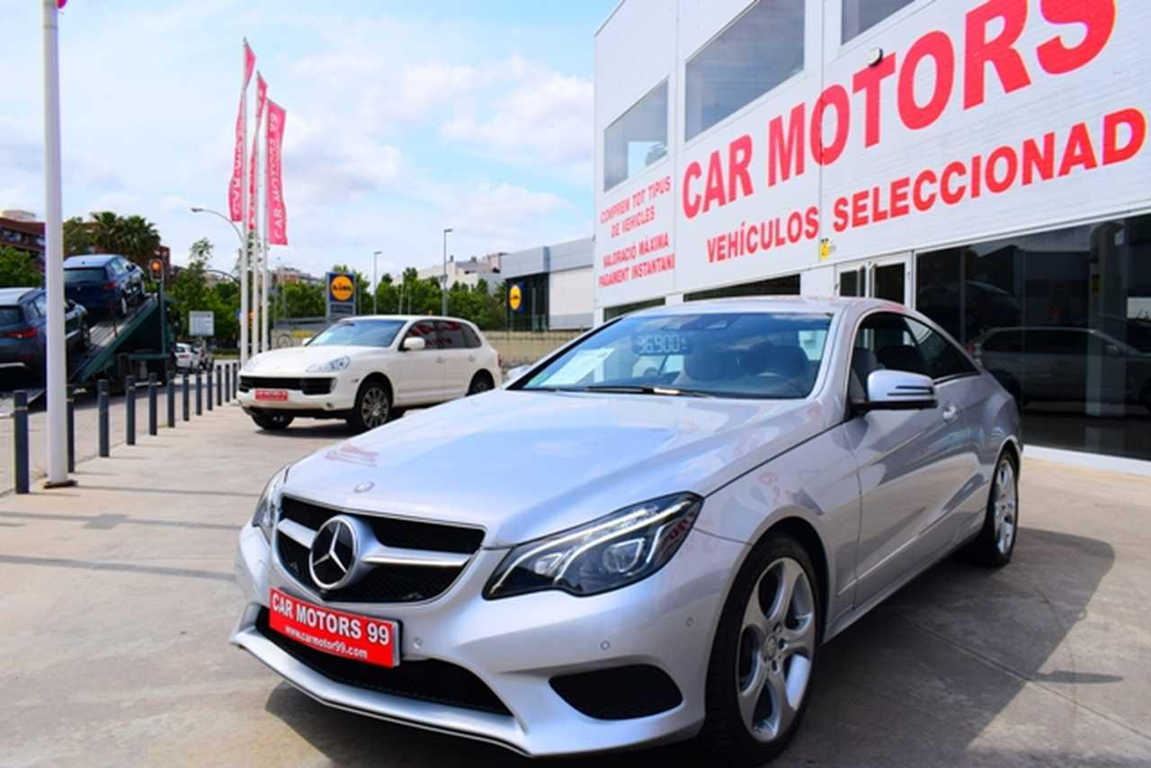Mercedes Clase E Coupé 350BlueTec 9G-Tronic , 2 T9 2987ccm 190/258cv IVA DEDUCIBLE PARA EMPRESAS  - Foto 1