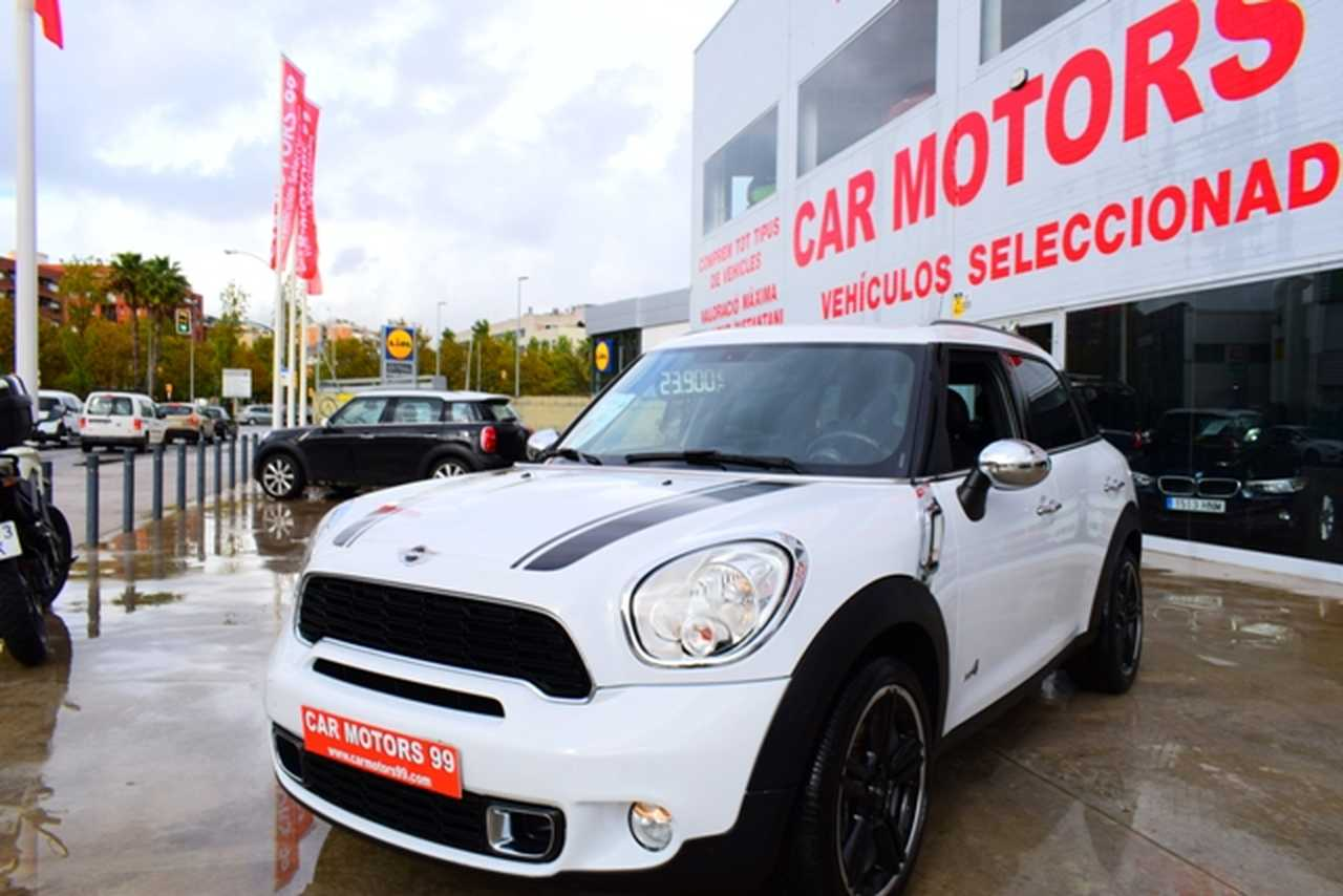Mini Countryman Cooper S ALL4 	Tot Terreny, 5 	T6 	1598ccm 	135/184cv AUT IVA DEDUCIBLE PARA EMPRESAS  - Foto 1