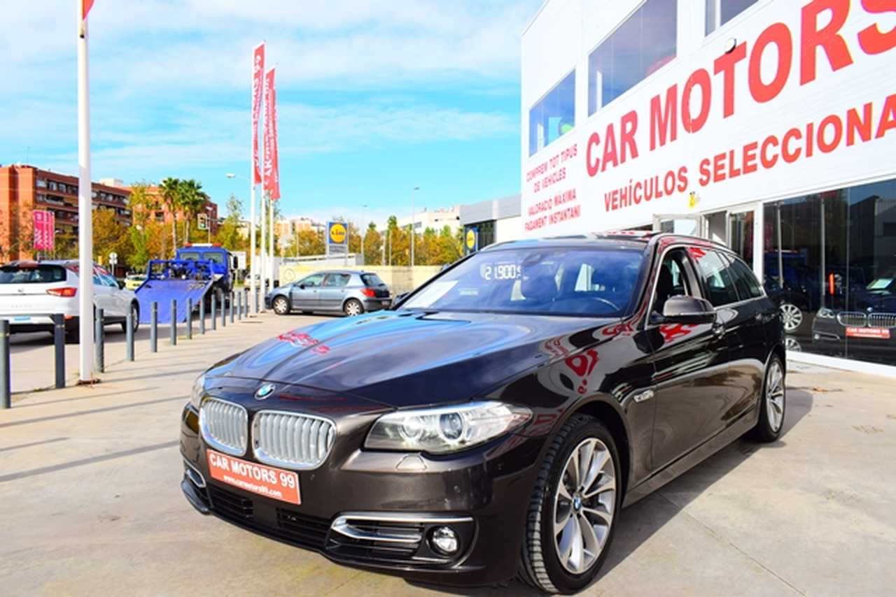 BMW Serie 5 Touring XDRIVE 4X4 525dA Touring Luxury 	Familiar, 5 	T8 	1995ccm 	160/218CV IVA DEDUCIBLE PARA EMPRESAS  - Foto 1