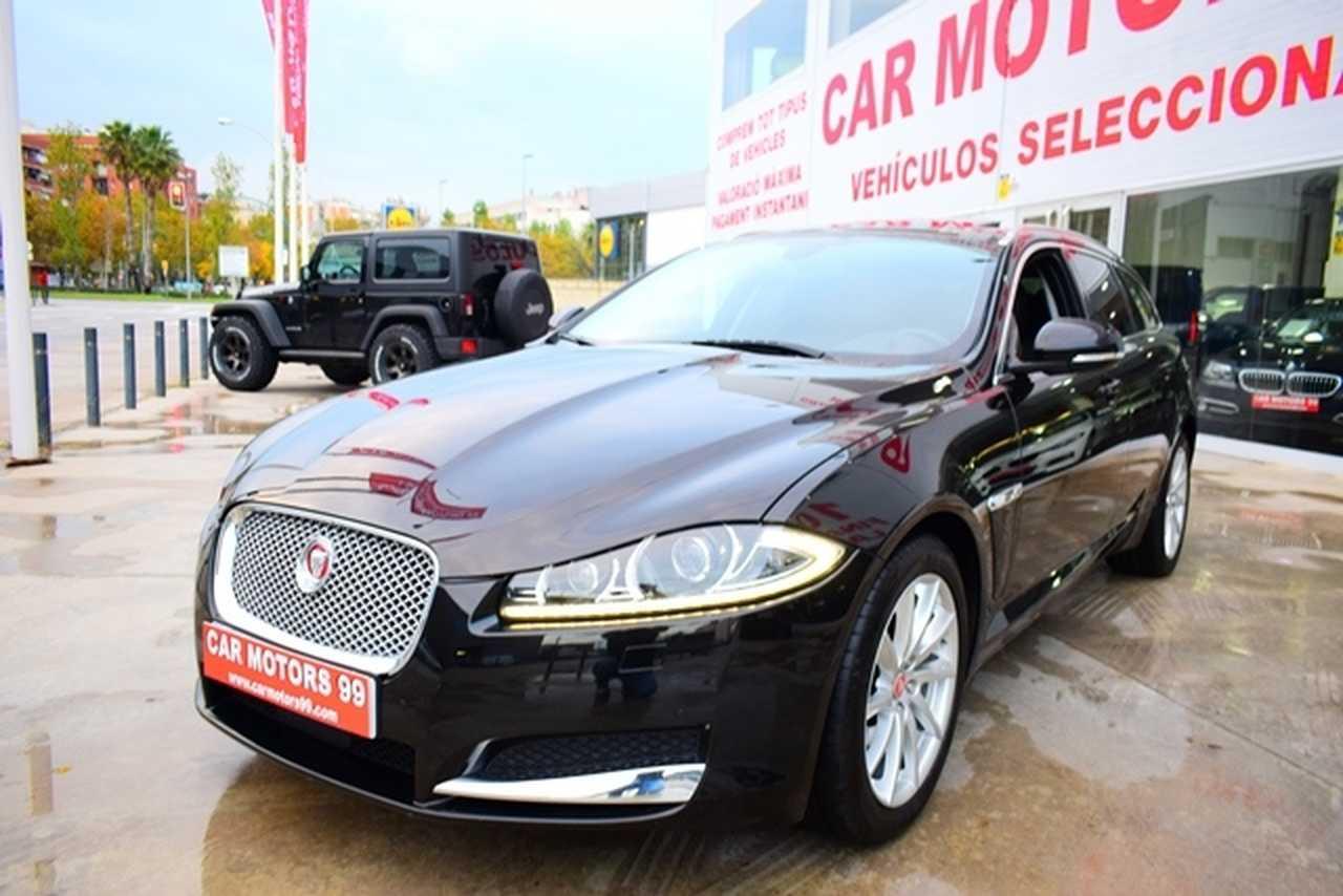Jaguar XF Sportbrake 2.2 Diesel Premi Familiar, 5 T8 2179ccm 147/200CV IVA DEDUCIBLE PARA EMPRESAS  - Foto 1