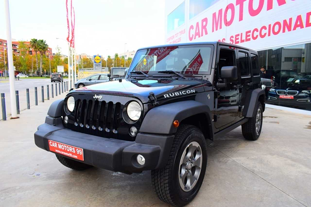 Jeep Wrangler Unlimited 3.6 Rubicon 	Tot Terreny, 5 	T5 	3604ccm 	209/284cv   - Foto 1
