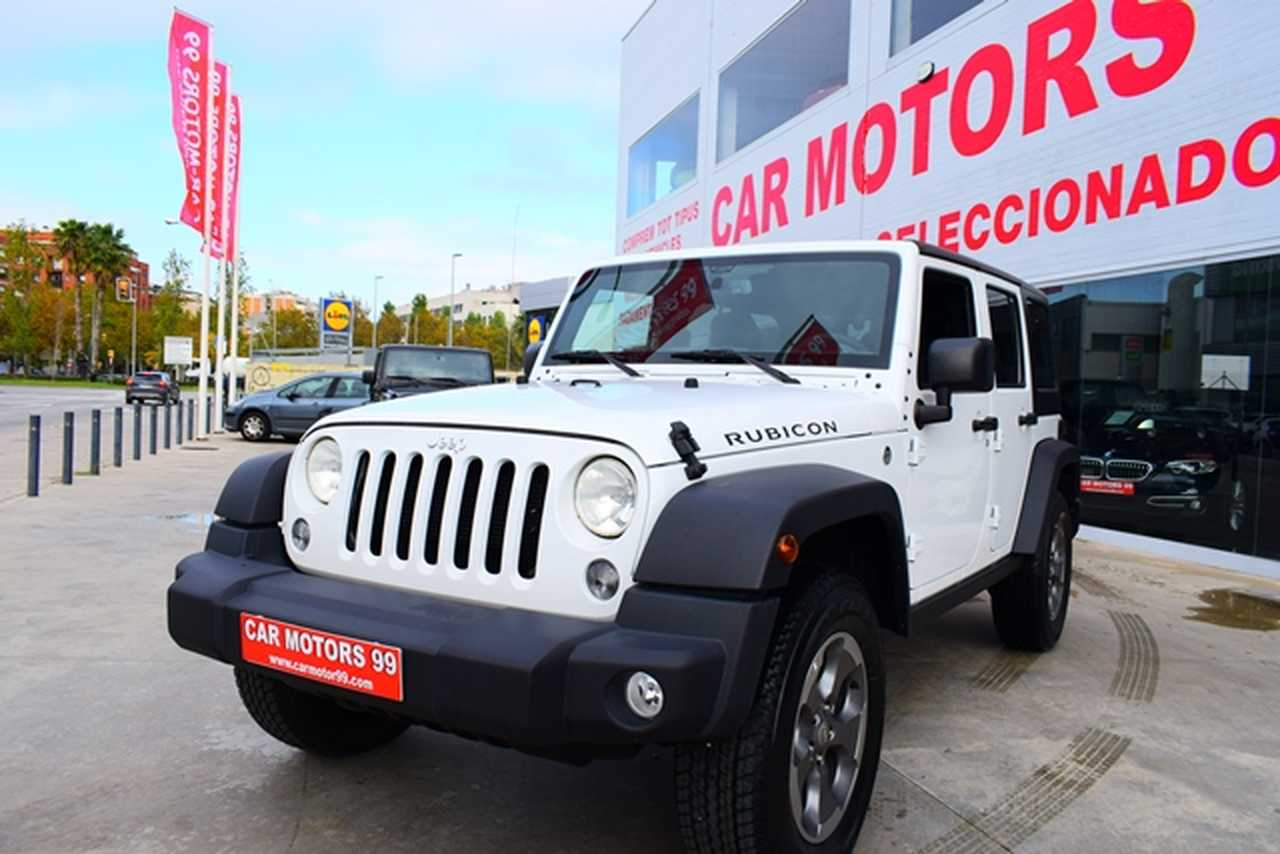 Jeep Wrangler Unlimited 3.6 Rubicon Tot Terreny, 5 	T5 	3604ccm 	209/284cv IVA DEDUCIBLE PARA EMPRESAS  - Foto 1