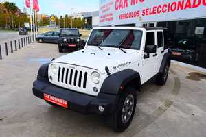 Jeep Wrangler Unlimited 3.6 Rubicon Tot Terreny, 5 	T5 	3604ccm 	209/284cv IVA DEDUCIBLE PARA EMPRESAS  - Foto 2