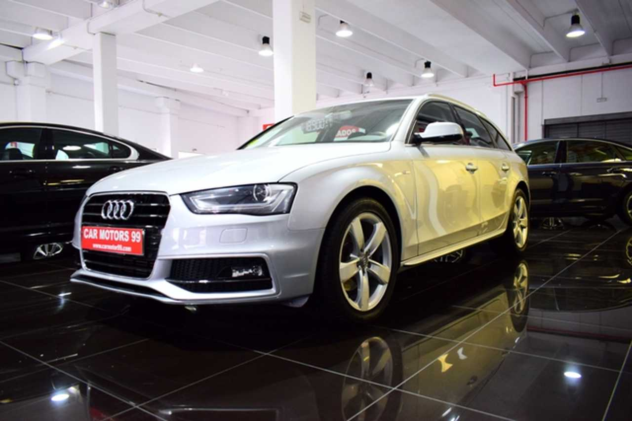 Audi A4 Avant 2.0TDI DPF Multitroni 	Familiar, 5 	T8 	1968ccm 	110/150cv IVA DEDUCIBLE PARA EMPRESAS  - Foto 1