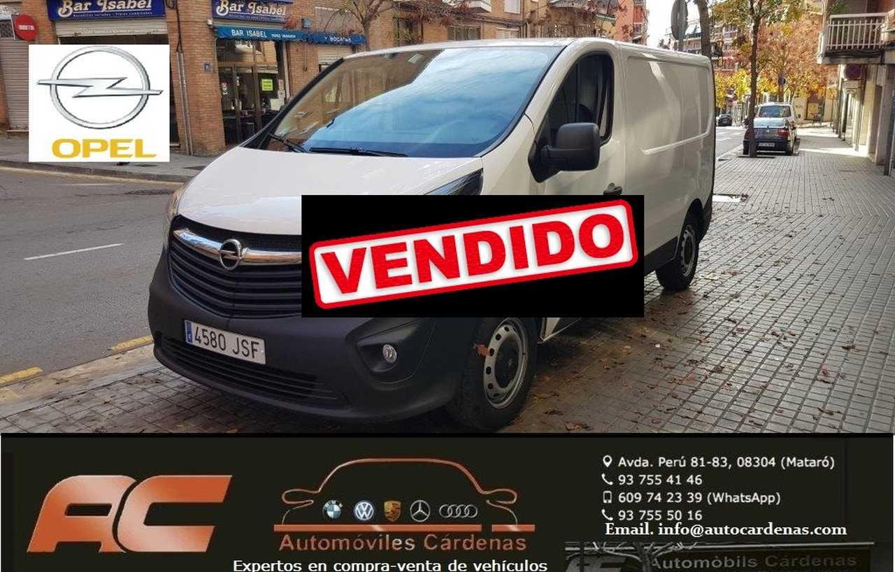 Opel Vivaro 1.6 CDTI 115CV FURGON EXPRESION AIRE-USB-TEL-CONTROL DE VELOCIDAD  - Foto 1