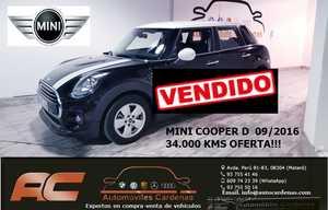 Mini Cooper D 5 PUERTAS CLIMA-USB-TEL-TECHO Y ESPEJOS BLANCOS  - Foto 2