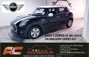 Mini Cooper D 5 PUERTAS CLIMA-USB-TEL-TECHO Y ESPEJOS BLANCOS  - Foto 3
