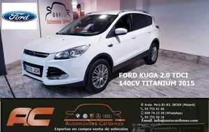 Ford Kuga 2.0 TDCI 140CV TITANIUM APARK ASSIST LUNAS TINTADAS-XENON  - Foto 2