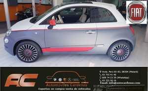 Fiat 500 1.2 lLOUNGE 69CV 02/2016  VERSION UNICA CLIMA DIGITAL-VOLANTE MULTIFUNCION-LLANTAS-TECHO  - Foto 3