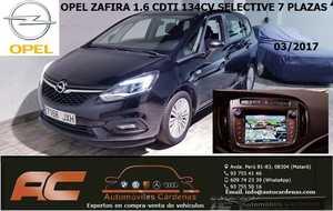 Opel Zafira 1.6 CDTI SELECTIVE 134CV 7 PLAZAS-NAVEGADOR GPS--CAMARA T  - Foto 2