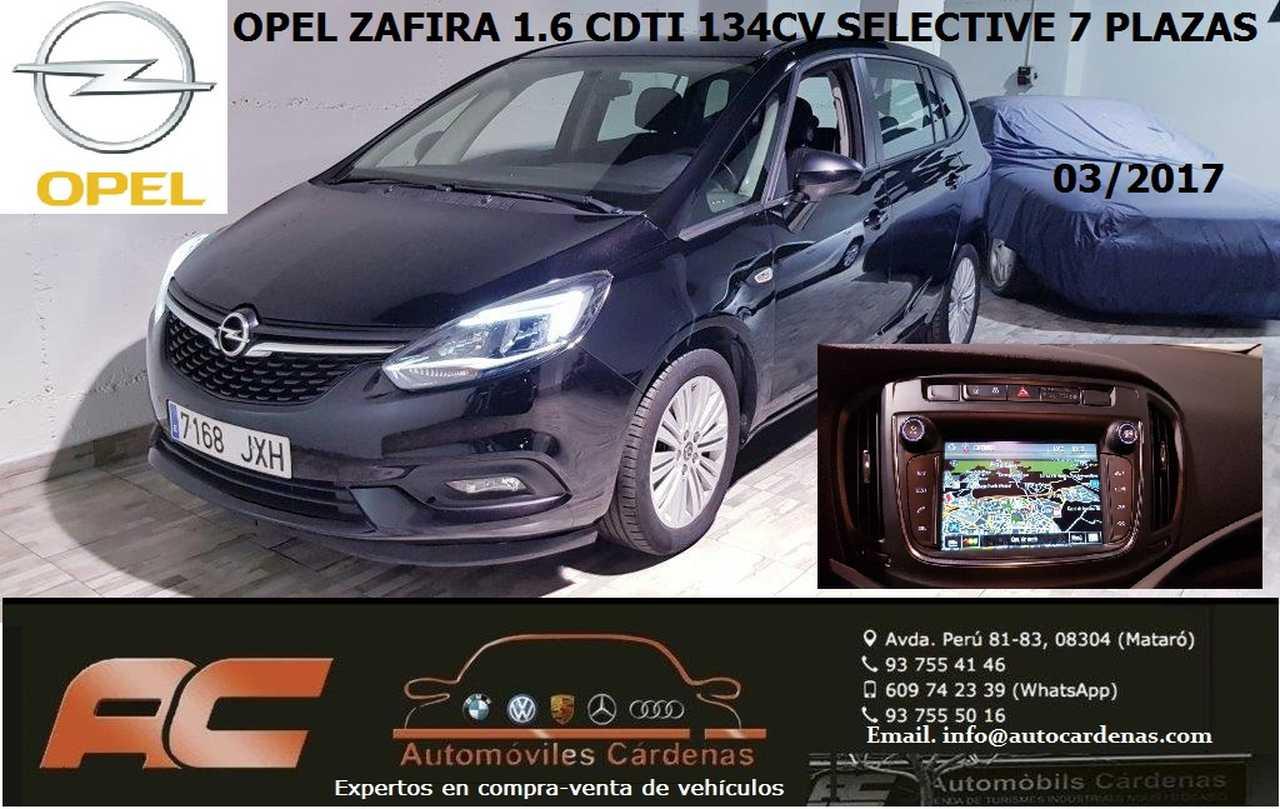 Opel Zafira 1.6 CDTI SELECTIVE 134CV 7 PLAZAS-NAVEGADOR GPS--CAMARA T  - Foto 1