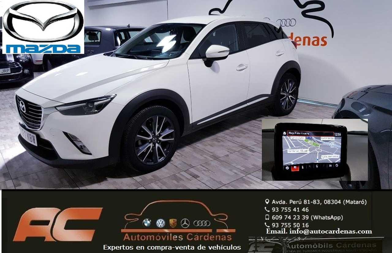 Mazda CX-3 2.0 SKYACTIV GE Luxury 2WD AT 5p NAVEGADOR GPS-CAMARA-HEAD UP DISPLAY  - Foto 1