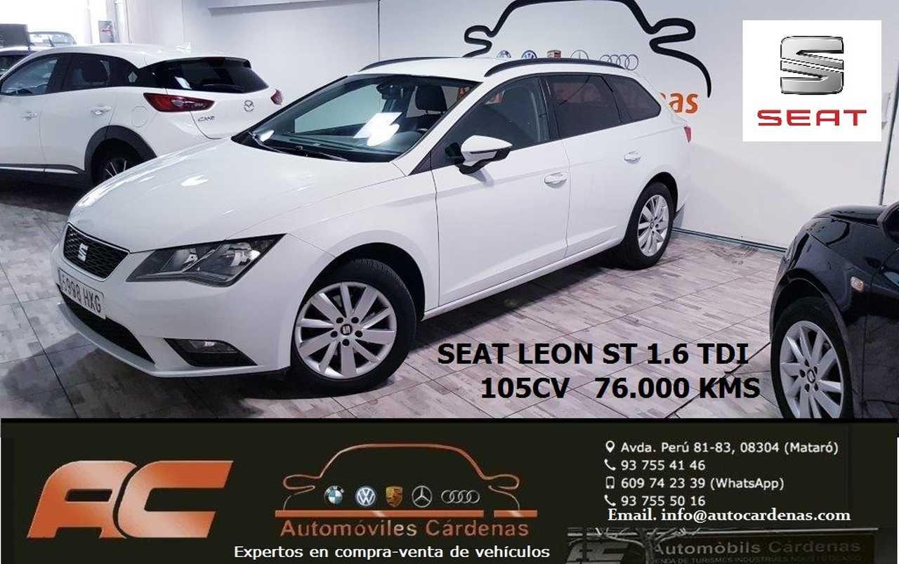 Seat Leon ST 1.6 TDI 105CV  REFERENCE PLUS CLIMA-USB-LUNAS TINTADAS  - Foto 1
