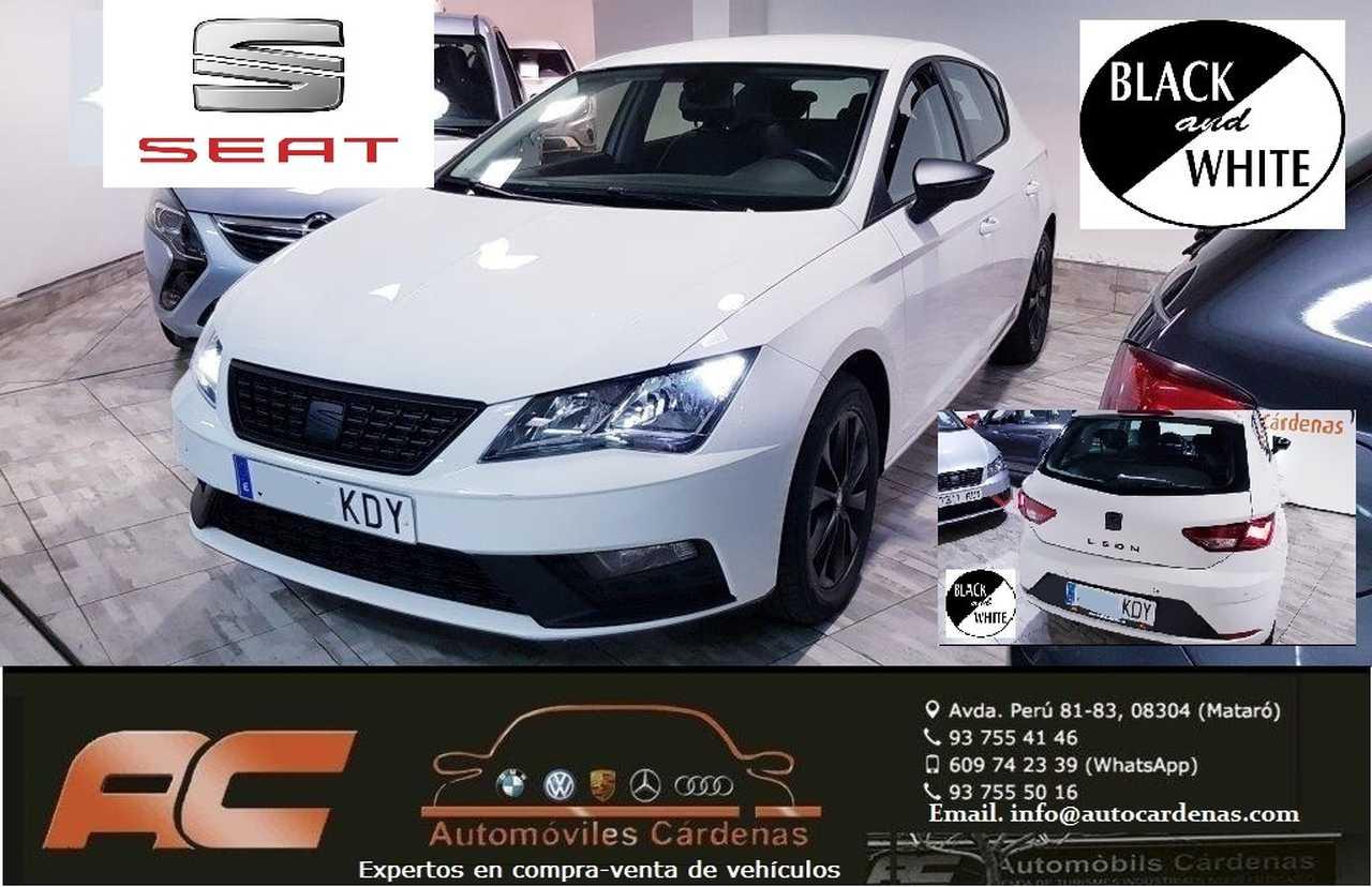 Seat Leon 1.2 TSI 110CV STYLE BLACK&WHITE EDTION LLANTAS,ESPEJOS,ANAGRAMAS EN NEGRO-CLIMA-USB  - Foto 1