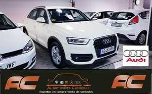 Audi Q3 2.0 TDI 140CV AMBITION XENON-SENSORES APARCAMIENTO-USB-TEL-27.200 KMS  - Foto 3