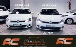 Volkswagen Golf 1.6 TDI 115CV ADVACED BLUEMOTION CAP PLAY  NAVEGADOR GPS SENSORES APARCAMIENTO T  - Foto 2