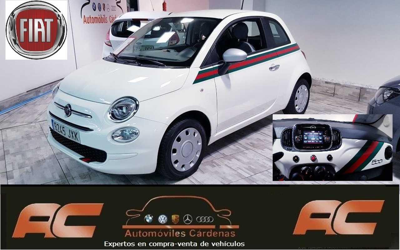 Fiat 500 1.2 69CV POP ESPEJOS EN GRIS Y DETALLE TAPACUBOS-USB-TEL  - Foto 1