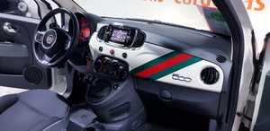 Fiat 500 1.2 69CV POP ESPEJOS EN GRIS Y DETALLE TAPACUBOS-USB-TEL  - Foto 2