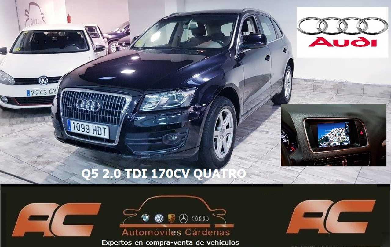 Audi Q5 2.0 TDI 170CV QUATTRO FULL EQUIPE NAVEGADOR GPS.BI-XON-CAMARA-TEL.18