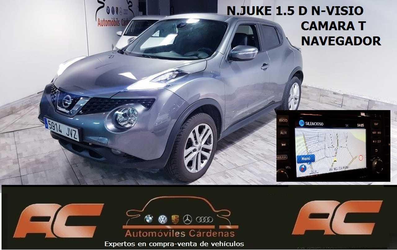 Nissan Juke 1.5 dci 110cv N-CONNECTA NAVI-CAMARA-LUNAS TINTADAS-ALCANTARA  - Foto 1