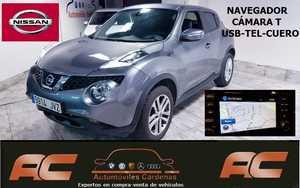 Nissan Juke 1.5 dci 110cv N-CONNECTA NAVI-CAMARA-LUNAS TINTADAS-ALCANTARA  - Foto 2