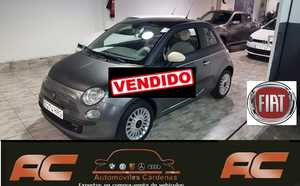 Fiat 500 1.2 69CV LOUNGE 2013 VERSION UNICA TECHO NEGRO MATE- PANORAMICO-USB-TEL  - Foto 2