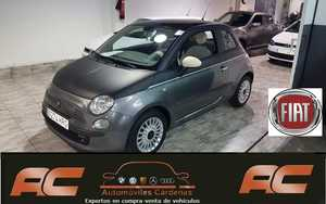 Fiat 500 1.2 69CV LOUNGE 2013 VERSION UNICA TECHO NEGRO MATE- PANORAMICO-USB-TEL  - Foto 3