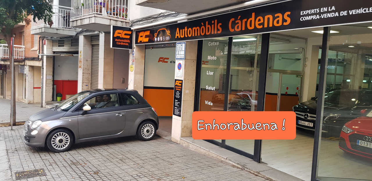 Fiat 500 1.2 69CV LOUNGE 2013 VERSION UNICA TECHO NEGRO MATE- PANORAMICO-USB-TEL  - Foto 1
