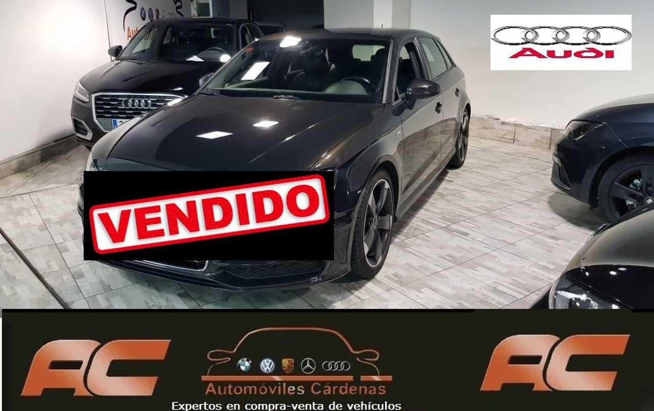 Audi A3 Sportback 2.0 TDI 150CV CLEAN 150CV S-TRONIC S-LINE INTERIOR Y EXTERIOR LLANTA 18 ROTOR  - Foto 1