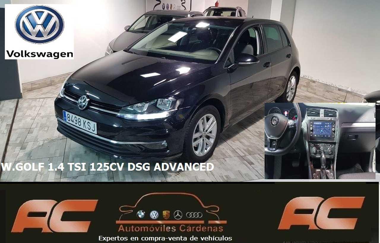 Volkswagen Golf GOLF 1.4 TSI 125CV DSG ADVANCED CAR PLAY-PANTALLA TACTIL-SENSOR LUCES Y LLUVIA-CLIMA  - Foto 1