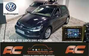 Volkswagen Golf GOLF 1.4 TSI 125CV DSG ADVANCED CAR PLAY-PANTALLA TACTIL-SENSOR LUCES Y LLUVIA-CLIMA  - Foto 2