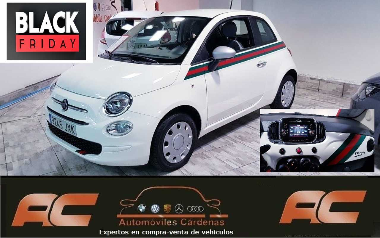 Fiat 500 1.2 69CV POP BY GUCCI BLUETOOTH-USB-VOLANTE MULTIFUNCION  - Foto 1