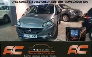 Opel Corsa 1.4 COLOR EDITION PACK SPORT -GPS -CAR PLAY  - Foto 2