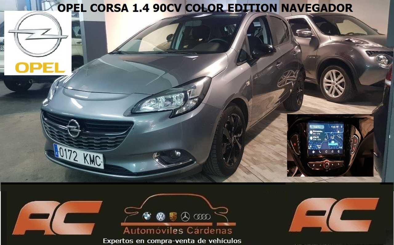 Opel Corsa 1.4 COLOR EDITION PACK SPORT -GPS -CAR PLAY  - Foto 1
