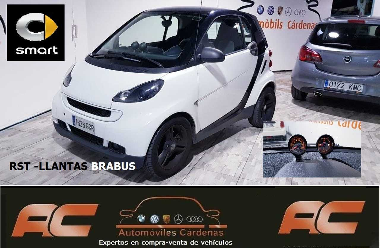 Smart Fortwo SPORT 84CV AUTOMATICO LLANTAS BRABUS-TECHO -LEVAS  - Foto 1