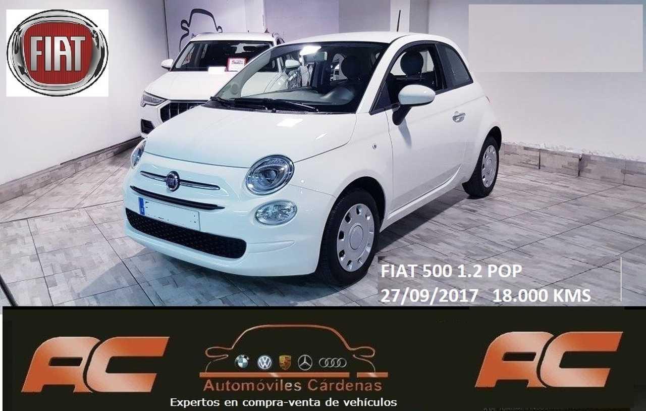 Fiat 500 1.2 269CV POP PANTALLA TACTIL-USB-BLUETOOTH  - Foto 1
