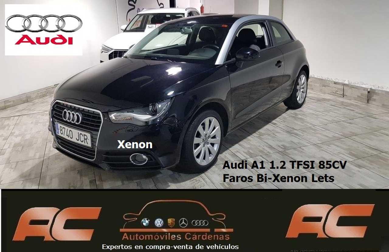 Audi A1 1.2 TFSI 85CV ATRACCION 3 PUERTAS FAROS XENON-SENSORES APARC TRASEROS-BLUETOOTH  - Foto 1