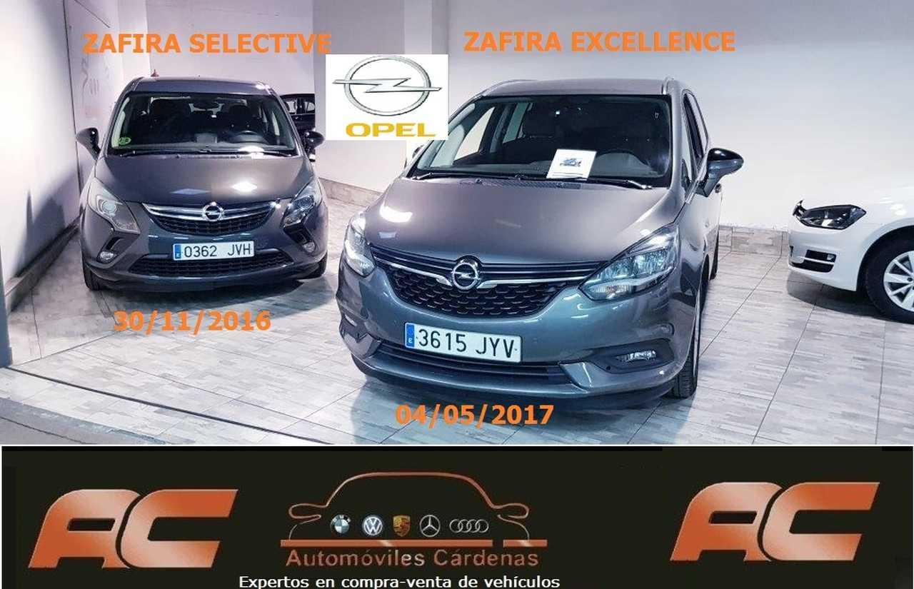 Opel Zafira 1.6 CDTI 134CV SELECTIVE NAVEGADOR GPS-SENSORES DEL Y TRASEROS  - Foto 1