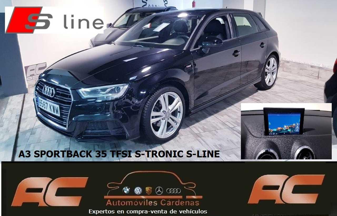 Audi A3 Sportback 35 TFSI BLACKLINE S-TRONIC S-LINE NAVEGADOR GPS-CAP PLAY-  - Foto 1